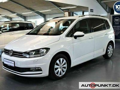 brugt VW Touran 1,6 TDi 110 Comfortline Van