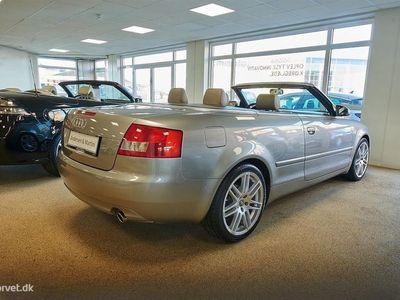 brugt Audi A4 Cabriolet 2,4 V6 170HK