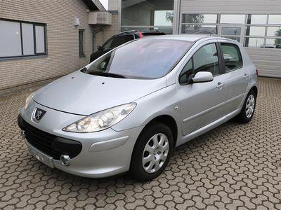 brugt Peugeot 307 1,6 110HK 5d - Personbil - Sølv