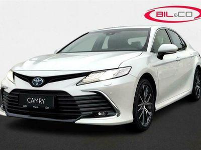 brugt Toyota Camry 2,5 VVT-I Hybrid H3 Executive 218HK Aut.