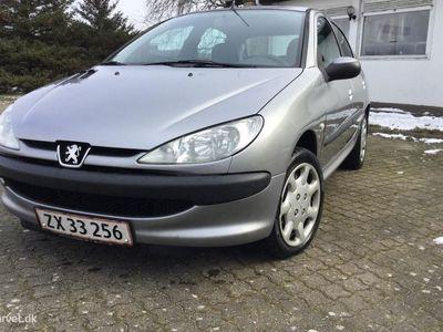 brugt Peugeot 206 1,4 HDI XR 70HK 5d
