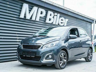 brugt Peugeot 108 1,0 e-VTi 72 Allure+