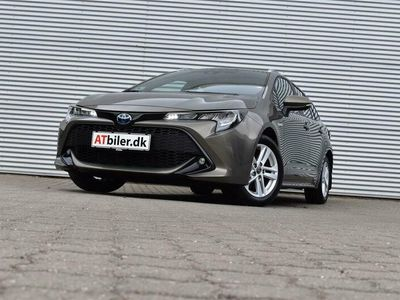brugt Toyota Corolla Touring Sports 2,0 Hybrid H3 Smart E-CVT 180HK Stc 6g Aut. A+++