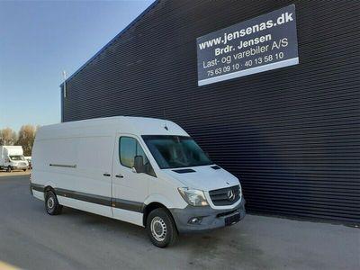 brugt Mercedes Sprinter 316 2,1 CDI R3 163HK Van 6g 2013