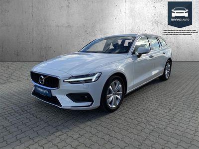 brugt Volvo V60 2,0 D4 Momentum 190HK Stc 8g Aut. - Personbil - Hvid