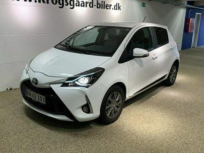 brugt Toyota Yaris 1,5 VVT-I Flavour HVID 111HK 5d 6g