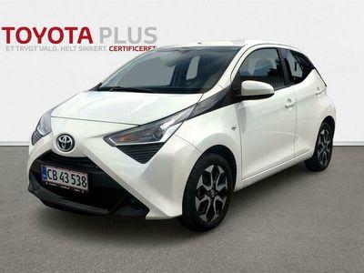 brugt Toyota Aygo 1,0 VVT-I X-Plore X-Shift 72HK 5d