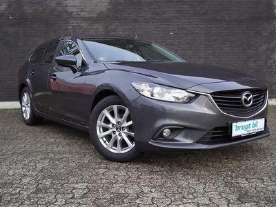 brugt Mazda 6 2,0 Skyactiv-G Core Business 145HK Stc 6g
