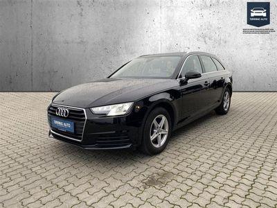 brugt Audi A4 Avant 2,0 TFSI S Tronic 190HK Stc 7g Aut. - Personbil - Sortmetal