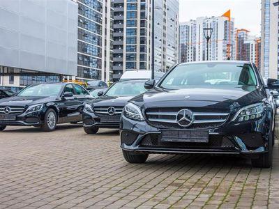 brugt Mercedes C220 d T 2,1 Bluetec 9G-Tronic 170HK Stc 9g Aut. - Personbil - Sort