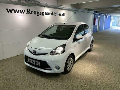 brugt Toyota Aygo 10 VVT-I T2 Air Connect 68HK 5d