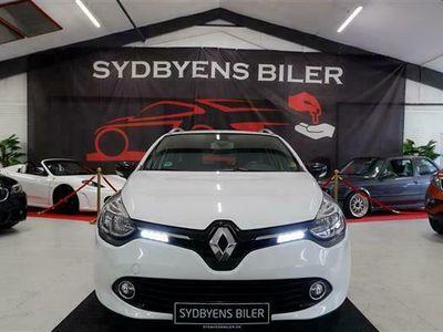 brugt Renault Clio Sport Tourer 1,5 DCI FAP Expression Energy 90HK Stc