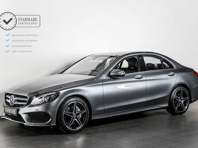 brugt Mercedes C200 2,0 AMG Line aut.