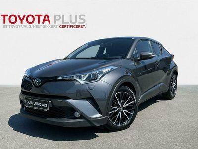 brugt Toyota C-HR 1,8 Hybrid Selected Multidrive S 122HK 5d Aut. A++
