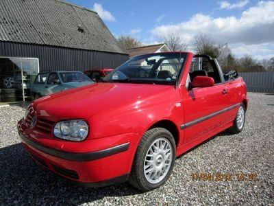 brugt VW Golf Cabriolet 1.8 5g 2d