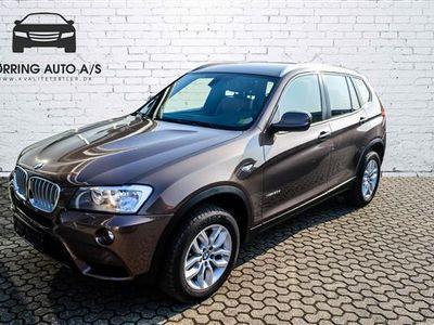 brugt BMW X3 30D 3,0 D XDrive 258HK 5d 8g Aut.