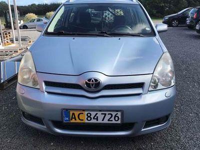 brugt Toyota Corolla Verso D-4D SPORTS VAN 2,2