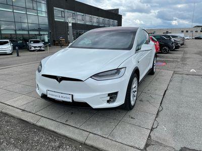 brugt Tesla Model X 100D el EL 6 sæder AWD 525HK 5d