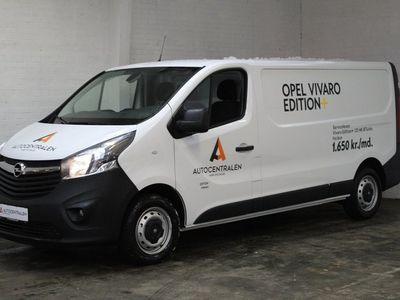 brugt Opel Vivaro 1,6 CDTi 125 Edition+ L2H1