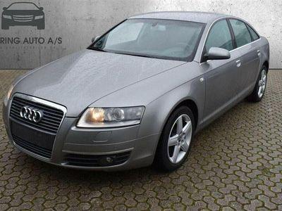 brugt Audi A6 2,4 V6 aut. 177HK - Personbil - Grå