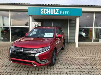 brugt Mitsubishi Outlander 2,4 PHEV Instyle S-Edition 4WD 224HK 5d 6g Trinl. Gear 2,4