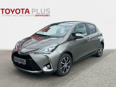 brugt Toyota Yaris Hybrid 1,5 Hybrid Limited E-CVT 100HK 5d Trinl. Gear A+++