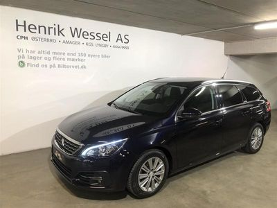 brugt Peugeot 308 SW 1,6 BlueHDi Selection Sky 120HK Stc 6g A++