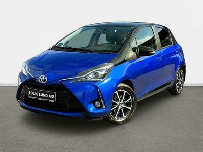 brugt Toyota Yaris 1,5 VVT-I T3 Premiumpakke 111HK 5d 6g A+