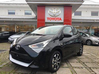 usata Toyota Aygo 1,0 VVT-I X-plore DAB+ X-Shift 72HK 5d Aut.