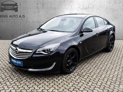 brugt Opel Insignia 2,0 CDTI Edition Start/Stop 120HK 5d 6g - Personbil - sort