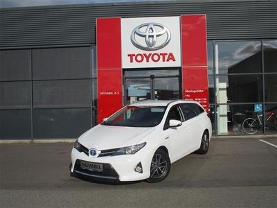 brugt Toyota Auris Hybrid 1,8 VVT-I H2 Premium E-CVT 136HK Stc Aut.