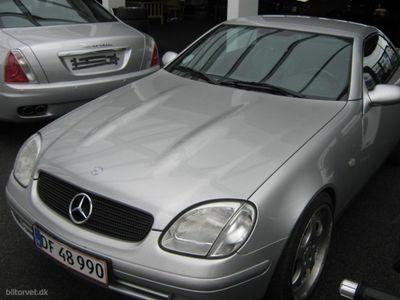 brugt Mercedes SLK230 Komp. 197HK Cabr.