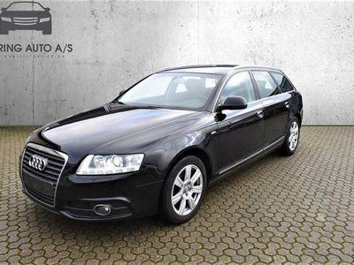 brugt Audi A6 Avant 2,0 TDI DPF 170HK Stc 6g - Personbil - Sort