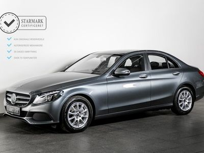 käytetty Mercedes C220 d 2,2 aut.