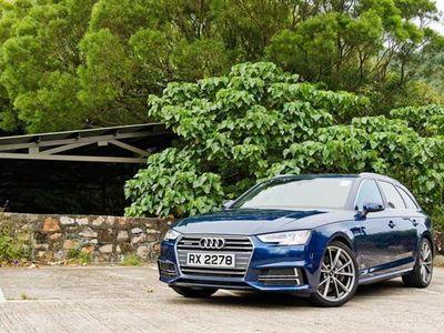 brugt Audi A4 Avant 2,0 TDI S Tronic 150HK Stc 7g Aut. - Personbil - mørkblåmetal