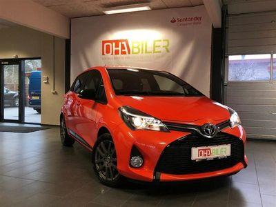 second-hand Toyota Yaris 1,3 VVT-I Orange Edition 100HK 5d 6g
