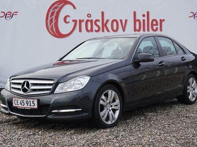 brugt Mercedes C250 2,2 CDi aut. 4-M BE