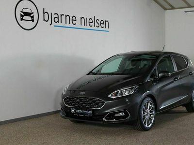 brugt Ford Fiesta 1,0 EcoBoost mHEV Vignale