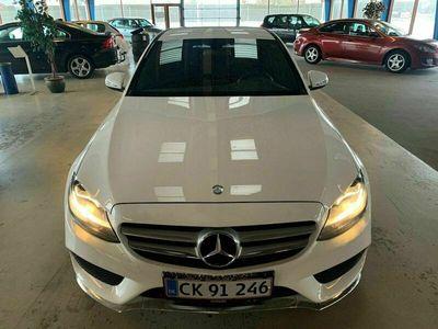 brugt Mercedes C400 3,0 AMG Line aut. 4-M
