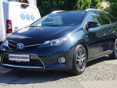 brugt Toyota Auris Touring Sports 1,8 VVT-I H2 Premium E-CVT 136HK St