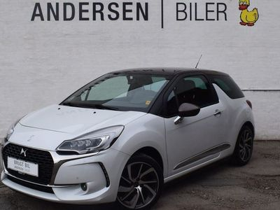brugt DS Automobiles DS3 1,6 Blue HDi Sport start/stop 100HK 3d