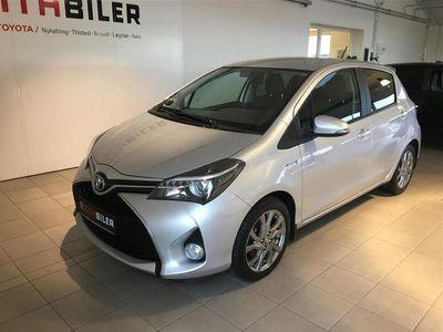 brugt Toyota Yaris Hybrid 1,5 B/EL Style E-CVT 100HK 5d Trinl. Gear