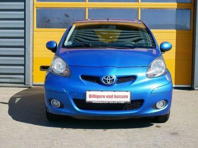 brugt Toyota Aygo 1,0 Plus Blue III