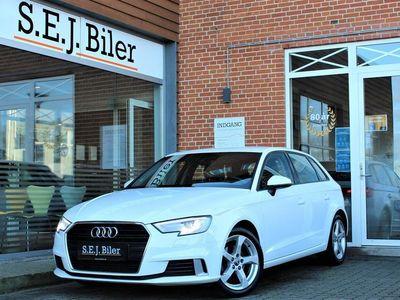 brugt Audi A3 Sportback 1,6 TDI Sport 116HK 5d 6g A+