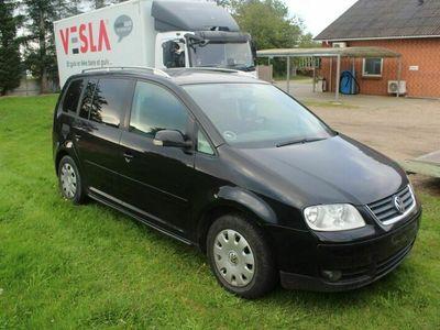 brugt VW Touran 2,0 TDi 136 Trendline Van