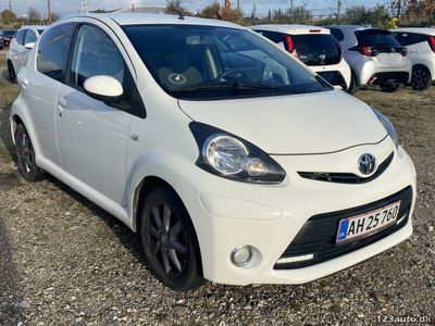 brugt Toyota Aygo 1,0 VVT-i T2 Air Connect 5d