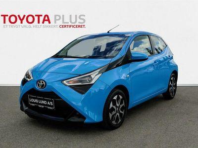 brugt Toyota Aygo 1,0 VVT-I X-plore DAB+ 72HK 5d A++