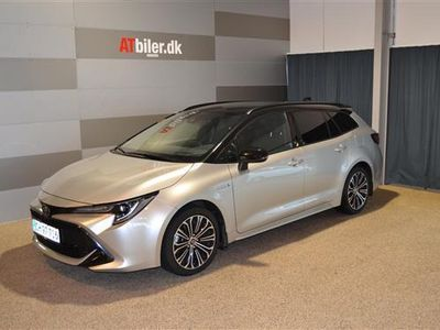 brugt Toyota Corolla Touring Sports 2,0 B/EL H3 Premiumpakke E-CVT 180HK Stc 6g Aut.