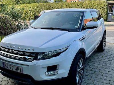 brugt Land Rover Range Rover evoque 2,0 Si4 Prestige