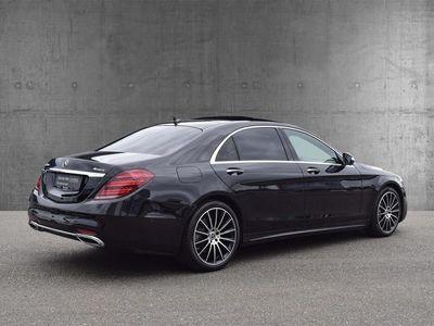brugt Mercedes S400 d Lang 2,9 D 4-Matic 9G-Tronic 340HK 9g Aut.